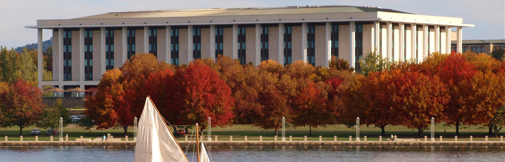 Autumn on Lake Burley Griffin